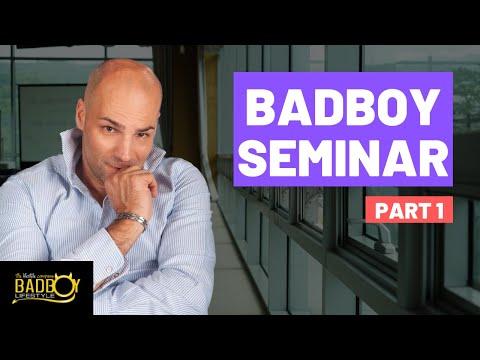 Pickup artist Badboy Talk 1 / 10