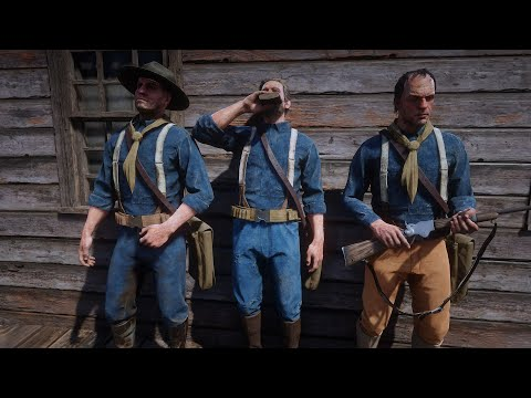 US Army Outfits And Models Red Dead Redemption 2
