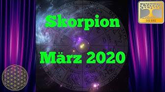 Sternzeichen Skorpion März 2020 / Dein Monatsorakel / Horoskop März Astrologie