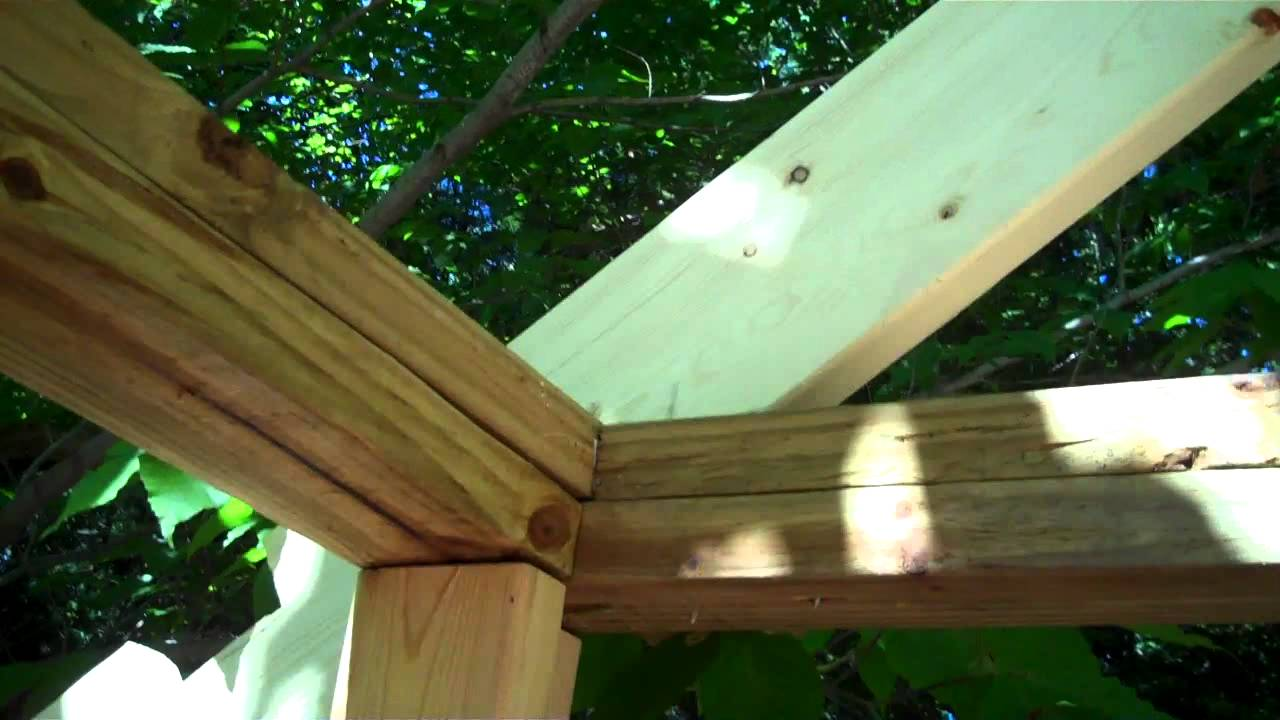 Cutting Birds Mouths 2x6 Gable Ends For Shed Roof Youtube