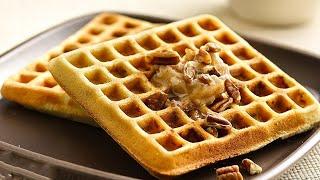 Бельгийские Вафли, Рецепт для электровафельницы: 2 легких рецепта для вкусного завтрака