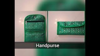 how to make a handpurse