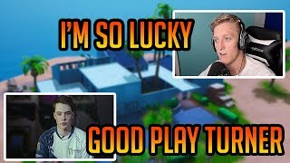 Tfue Almost Died To Liquid Poach ! Both POV (Fortnite Battle Royale)