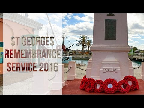 St Georges Remembrance Service, November 2016