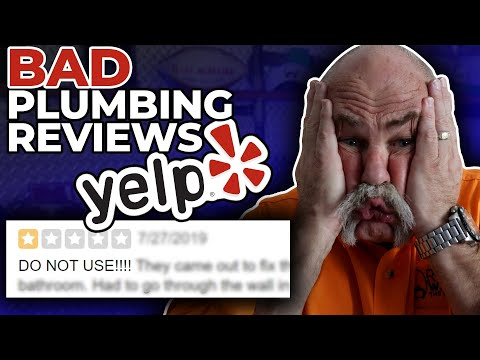 Real Plumber Reacts To The Worst Plumbing Reviews On Yelp Youtube