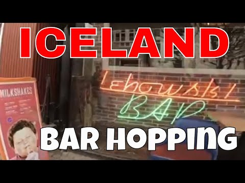 BarHopping Reykjavik Iceland
