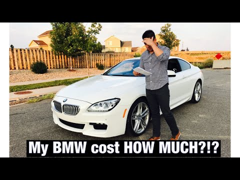 Cost Of Owning A Bmw 650i Youtube