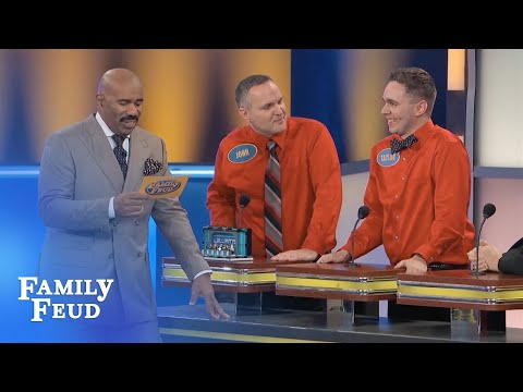 Xmas in Cali is SO HOT, Santa only wears his WHAT? | Family Feud