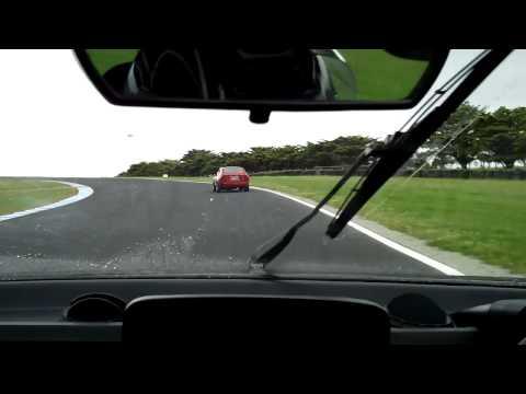 Alfetta Twin Spark chasing a Group SC @ Philip Island