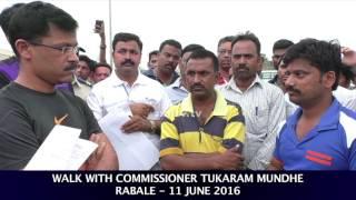 NMMC Chief Tukaram Mundhe meets residents of Rabale - 2