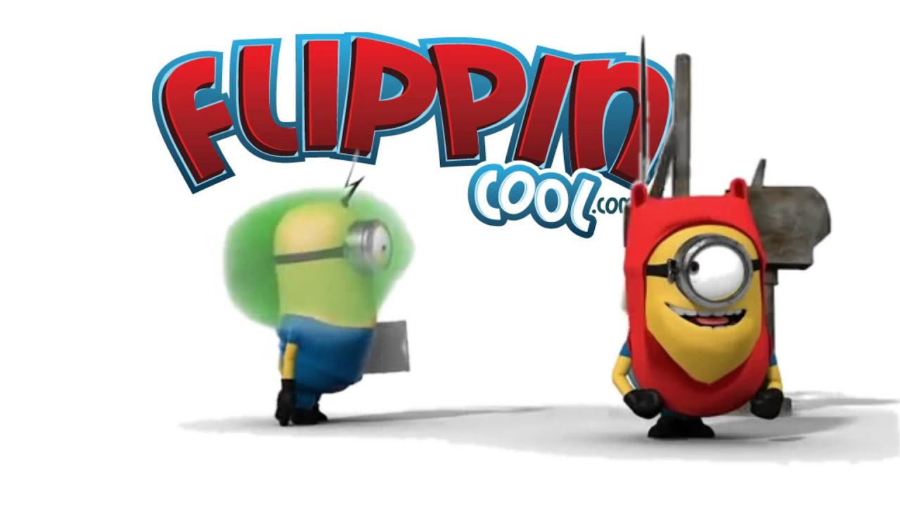 Funny Minions Fart   Flippin Cool   YouTube