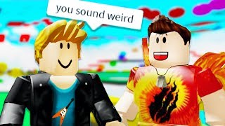Roblox Obby, but my voice gets HIGHER every death...