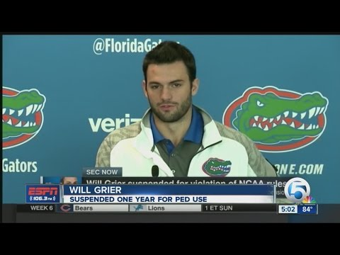 Will Grier suspended after taking banned substance
