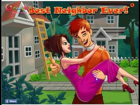 """I like game """"Game Chọc Phá Cô Hàng Xóm – Naughty Neighbor  """""""