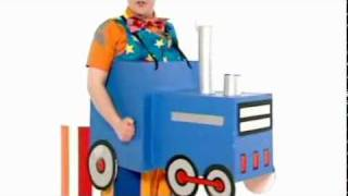 Mr Tumble driving a train and more