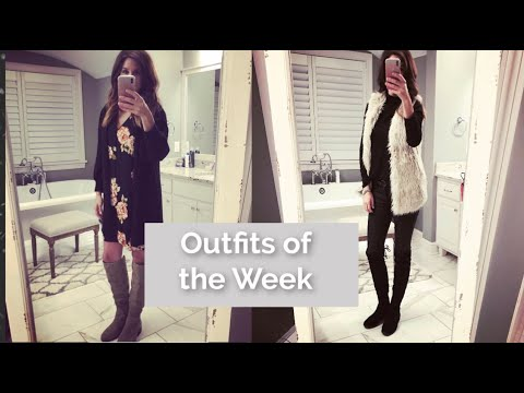 Jan 2019 Outfits of the Week - Fashion over 40