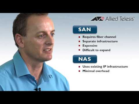 Allied Telesis Whats the Difference between NAS and SAN