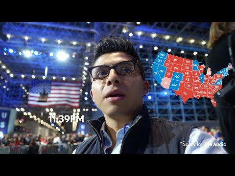 Trump Won :( Hillary Clinton Camp Javits Center
