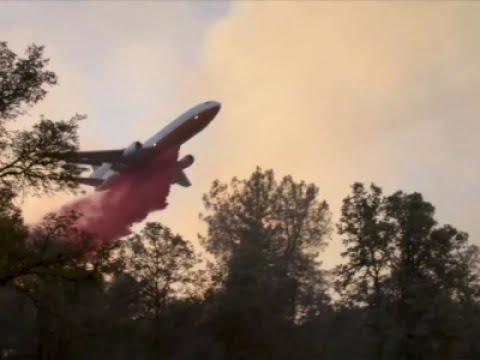 Raw: 4,000 Evacuate Northern California Wildfire