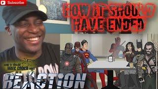 How Batman v Superman: Dawn of Justice Should Have Ended REACTION!