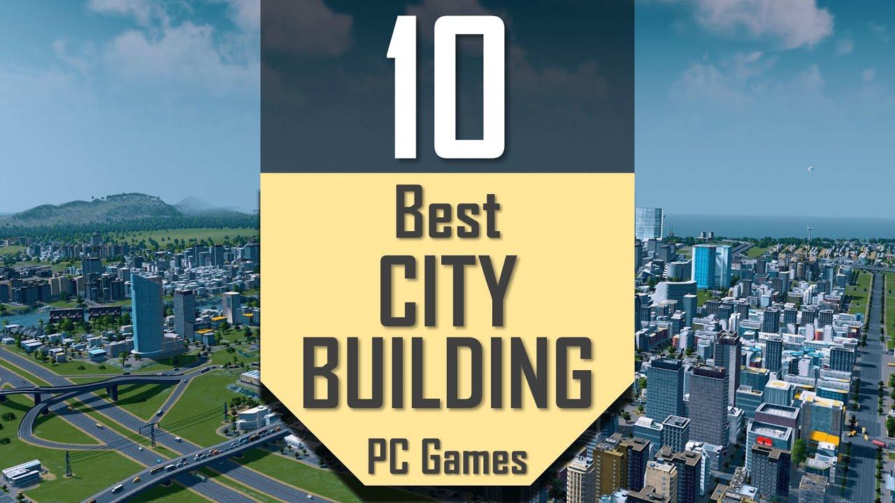 Best CITY BUILDING Games | TOP10 City-Building PC Games