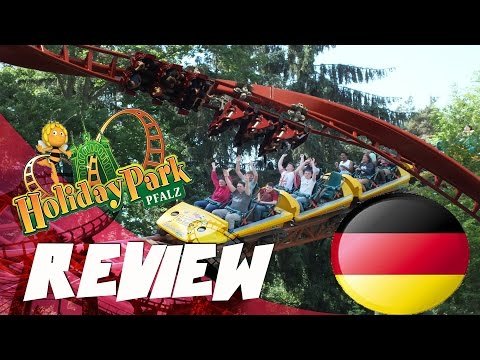 Review Freizeitpark: Plopsa Holiday Park, Hassloch Germany [Deutsch]