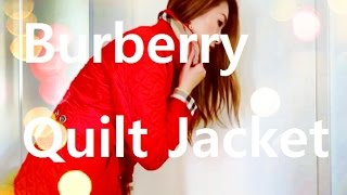 Burberry Brit Quilted Jacket Copford Review