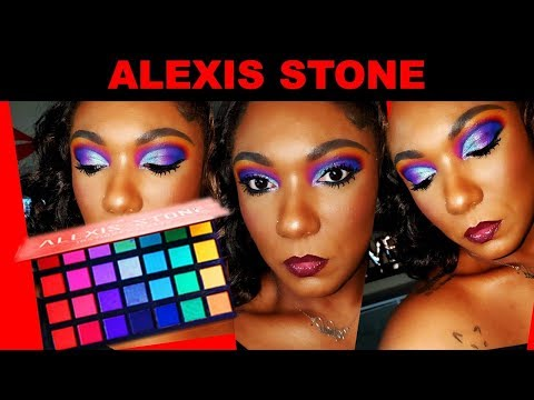 **NEW** ALEXIS STONE X REVOLUTION Instinct Palette- Colorful Eye Look!!