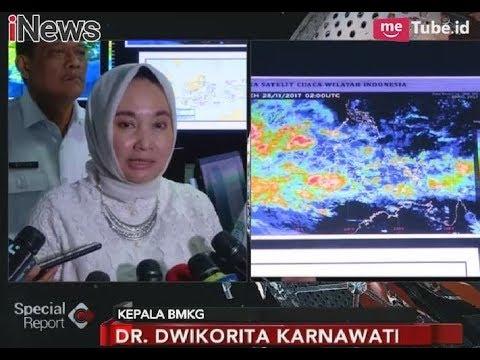BMKG Berikan Peringatan Dini Dampak Siklon Tropis untuk Sumatera & Jawa - Special Report 28/11