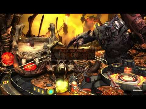 First Look at Bethesda Pinball - DOOM Table : Zen Pinball PS4