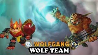 Skylanders Imaginators - Flare Wolf & Wolfgang GAMEPLAY - WOLF TEAM