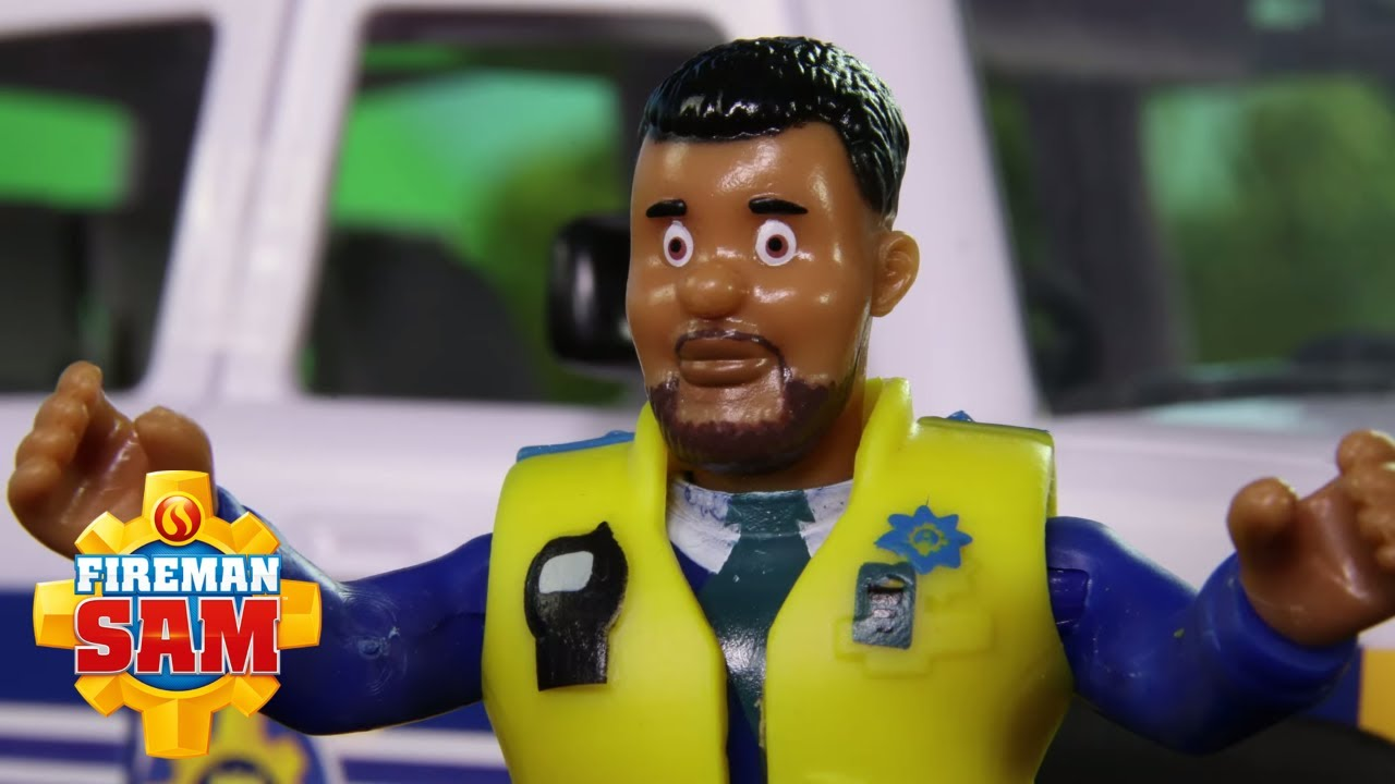 PC Malcolm to the Rescue!   NEW Episodes   Fireman Sam US   Stop Motion