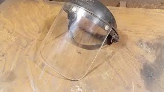 Как согнуть оргстекло для защитного щитка.How to bend the plexiglass.