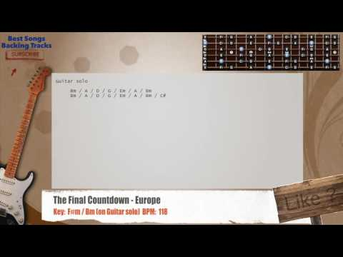 5.2 MB) Final Countdown Chords - Free Download MP3