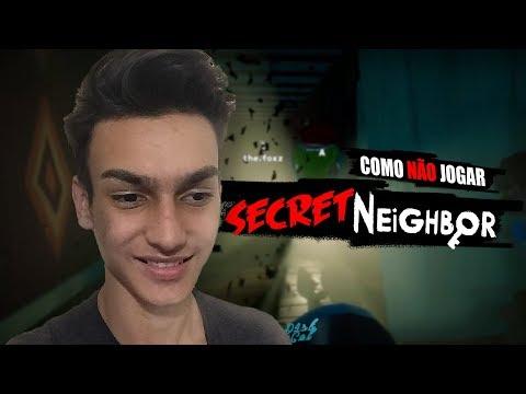 COMO NÃO JOGAR SECRET NEIGHBOUR (Ft. Gabriel Rinaldi)