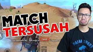 SUSAH SEKALI CHICKEN DINNER - PUBG MOBILE INDONESIA