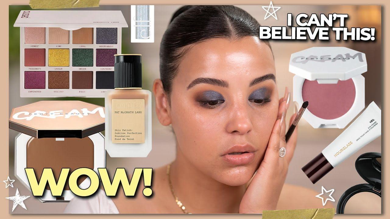 Full Face of First Impressions: Testing Hot NEW Makeup Products!