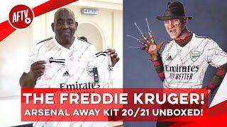 The Freddie Kruger! | Arsenal Away Kit 20/21 Unboxed!