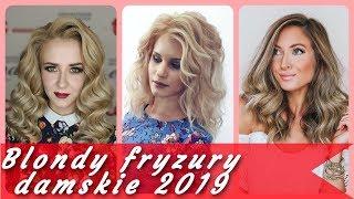 💖 Top 20 modne blondy fryzury damskie 2019 💖