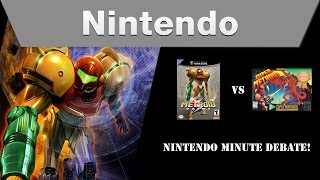 Nintendo Minute Debate – Super Metroid vs. Metroid Prime