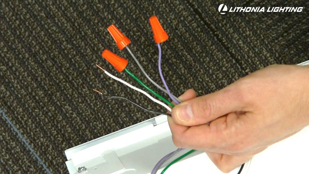 Led Dimming Ballast Wiring Diagram 97 Wrangler Radio Lithonia Lighting Gtled Capabilities Youtube