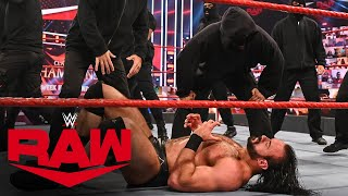 RETRIBUTION crash Drew McIntyre vs. Keith Lee: Raw, Sept. 14, 2020