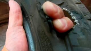 Боковой порез покрышки(, 2014-10-08T14:10:04.000Z)
