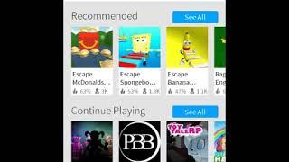 Spielen Roblox mit einer App, die jedes Spiel aufzeichnet, das ich habe