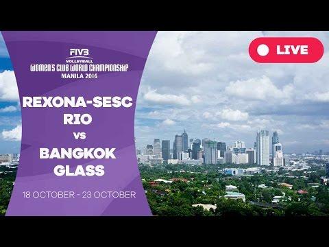 Rexona-Sesc Rio v Bangkok Glass - Women's Club World Championship