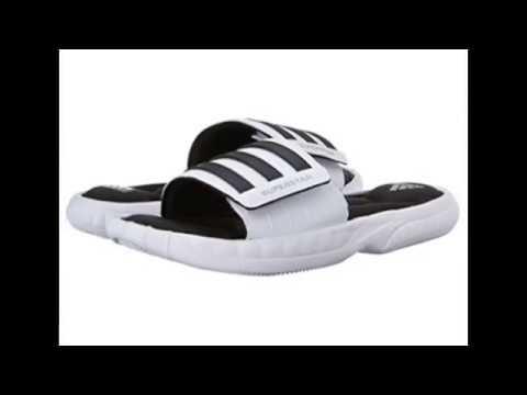 9c2a4e7c6 adidas Performance Men's Superstar 3G Slide Sandal - YouTube