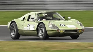 Porsche 904 Carrera GTS: 2.0L Flat-4 Engine Sound!