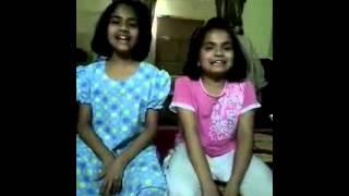 Cute voice of Zainab & Batool