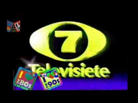 Identificacion Televisiete Zona Roja El 7 90s