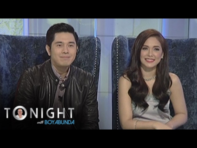 "TWBA: Maja and Paulo on their film, ""I'm Drunk, I love you"""